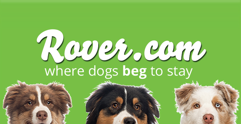 Rover Dog Sitting $25 promo code